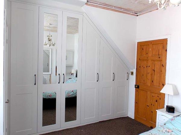 hinged wardrobe doors