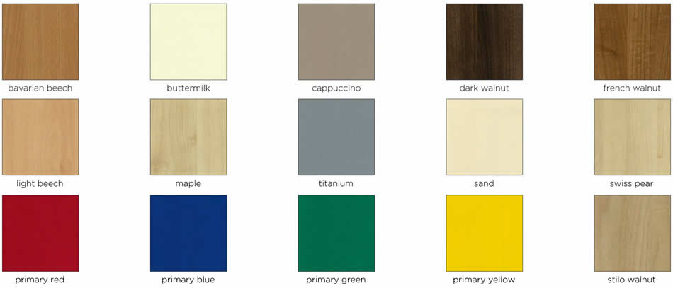 wide range of replacement door colours and styles