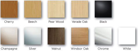 wood effect swatches for replacement wardrobe doors