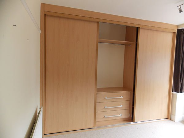 ash sliding wardrobe doors