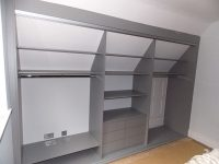 perfectly fitted loft conversion wardrobe interior