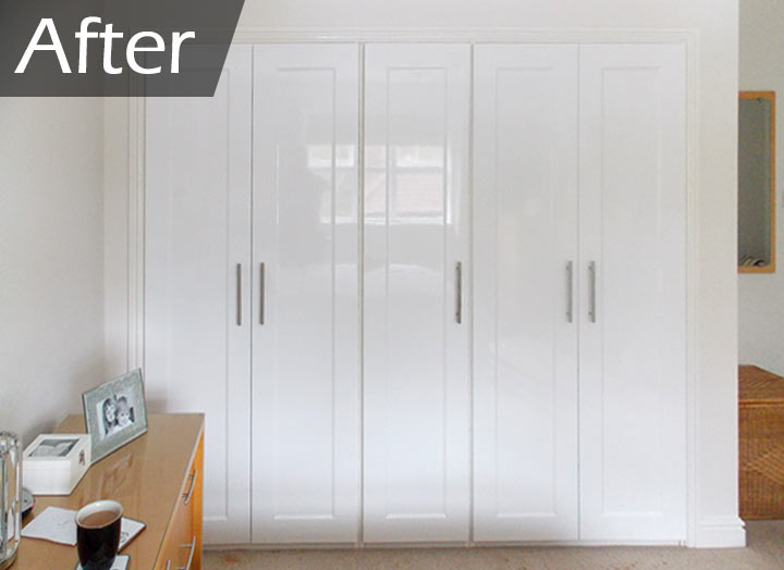 replacement wardrobe doors by peter lee hall fitted. Black Bedroom Furniture Sets. Home Design Ideas