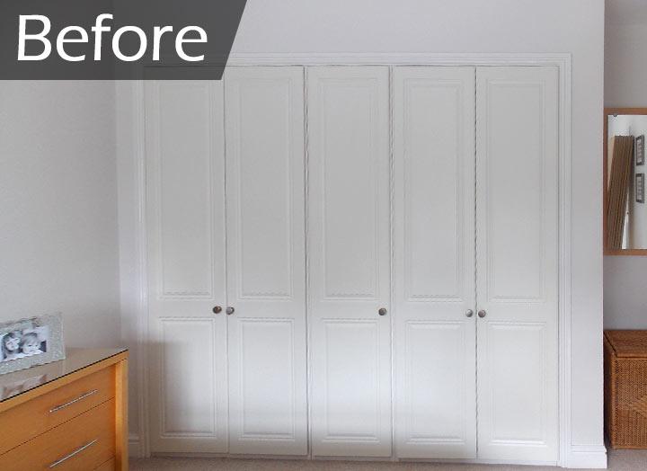 replacement hinged wardrobe doors before