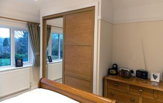 sliding wardrobe built for rob sutton coldfield