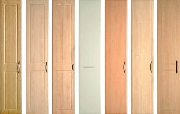 replacement hinged-door samples