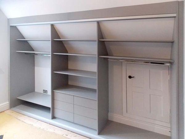 bespoke built-in storage interior