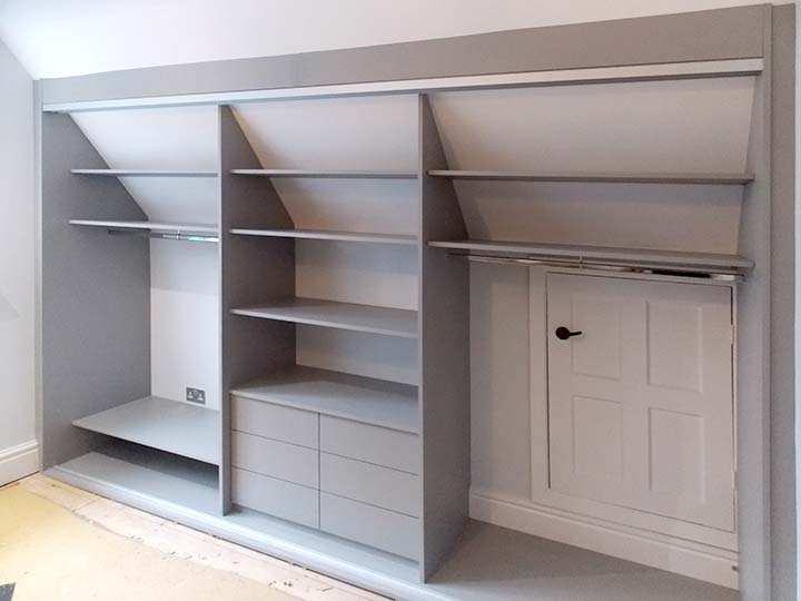 bespoke built-in storage interior