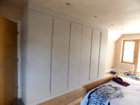 cashmere fitted hinged wardrobe closed