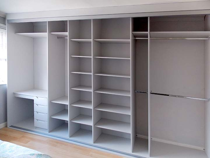 Inside Beautiful Sliding Door Wardrobes