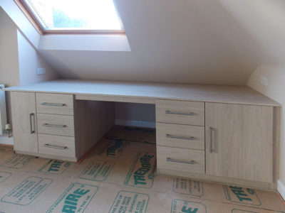 Matching Desk & Drawers Custom Made