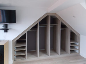 loft-conversion wardrobe interior
