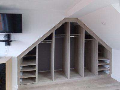 loft-conversion wardrobe interior