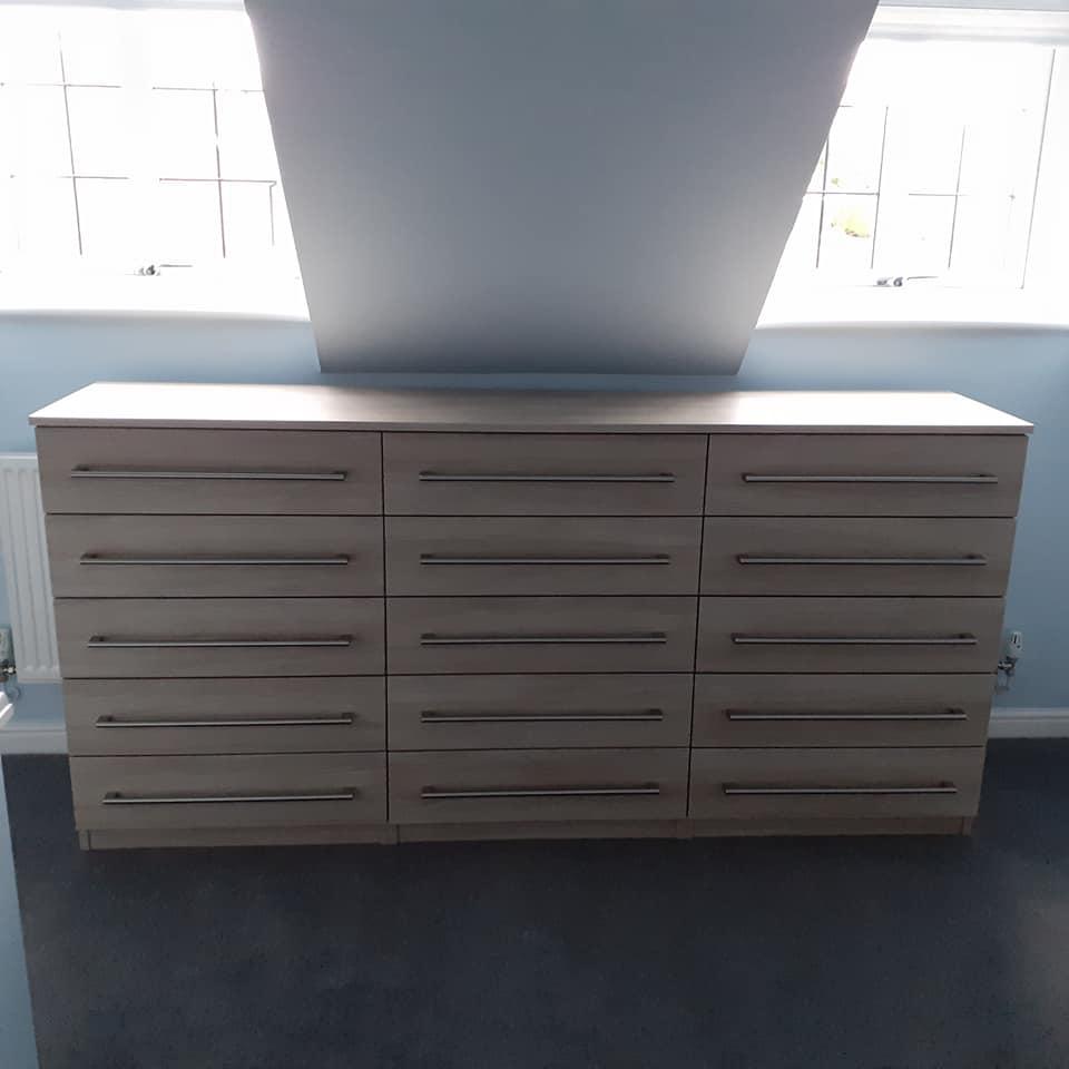 15 drawer storage