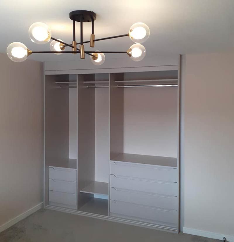 cashmere sliding wardrobe interior