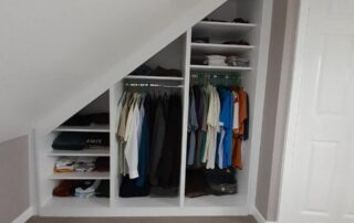 Four Oaks Loft Fitted Storage Hinged Wardrobe Style