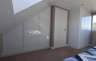 Four Oaks Loft Fitted Storage & Wardrobes Hinged