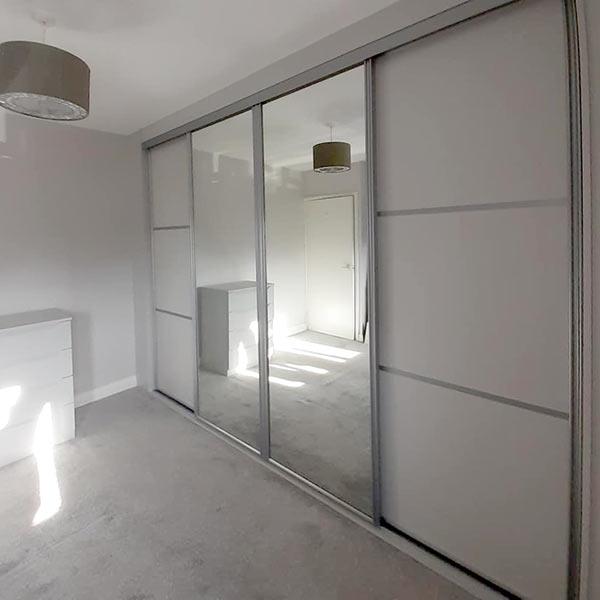 4 Door Wardrobe Exterior